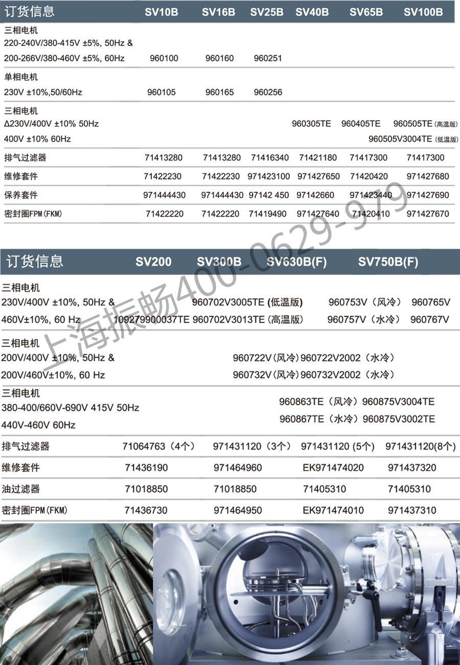 莱宝SV系列产品资料